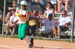 Kevin Spradlin | PeeDeePost.com Carleigh Haywood hit .352 in this, her first varsity season, and scored 17 runs.