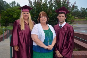 An RCC photo Richmond County High School Equivalency graduates