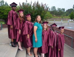 An RCC photo Scotland County Adult High School graduates