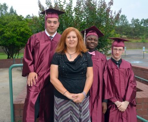 An RCC photo Scotland County High School Equivalency graduates