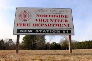 Kevin Spradlin | PeeDeePost.com Efforts to build a new Station 1 for the Northside Fire Department, located at the intersection of Bear Branch Road and Northside Drive, has hit another stumbling block.