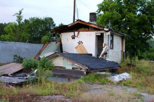 Kevin Spradlin | PeeDeePost.com Ellerbe Mayor Lee Berry reported that the rubble that once was the home of Sissy's Pet Grooming could be removed - finally - within a month.
