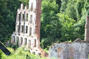 Kevin Spradlin | PeeDeePost.com What's left of the Great Falls Mill standing today.
