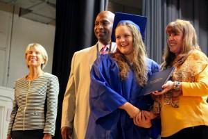 Kevin Spradlin | PeeDeePost.com Tabitha Dawkins is one of 63 members of the Class of 2015 at Leak Street High School.