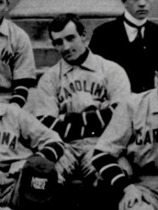 """Moonlight"" Graham, when he was on 1900 UNC baseball team. Image from the North Carolina Collection at UNC-Chapel Hill."