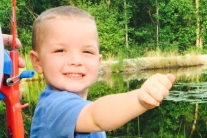 Submitted photo Kallen Heath, 3, needs help to teach his body how to eat. The intensive feeding program is a costly one, however, and the family is seeking the public's help.