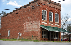 Photo by Kevin Spradlin | PiedmontPostNC.com The Gordon Hardware building is currently owned by the Town of Summerfield, but Mayor Gail Dunham has not been alone in suggesting the town sell it in an effort to put the property back on the tax rolls.